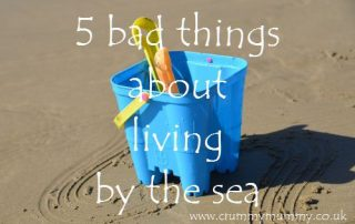 5 bad things about living by the sea