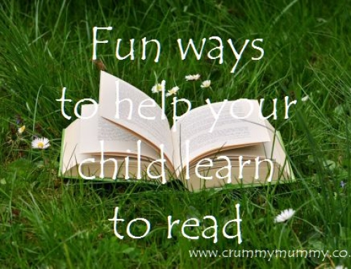 Fun ways to help your child learn to read