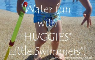 Water fun with Huggies Little Swimmers!