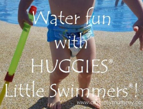Water fun with HUGGIES® Little Swimmers®! #ad