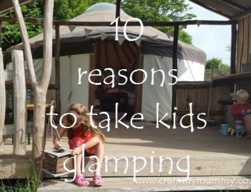 10 reasons to take kids glamping