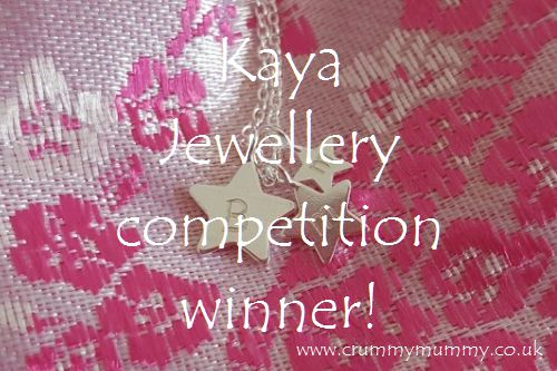 Kaya Jewellery compeition winner!
