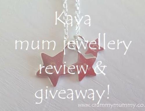 Kaya mum jewellery review & giveaway!