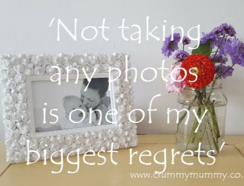 'Not taking any photos is one of my biggest regrets'