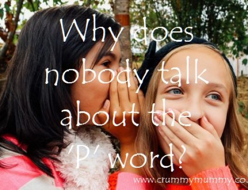 Why does nobody talk about the 'P' word?