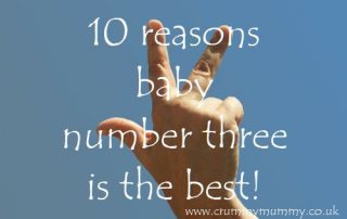 10 reasons baby number three is the best