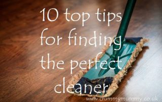 10 top tips for finding the perfect cleaner