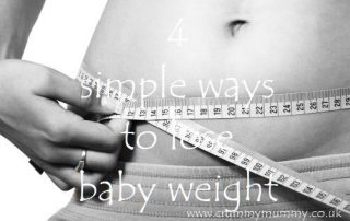 4 simple ways to lose baby weight