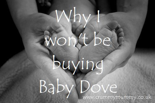 Why I won't be buying Baby Dove