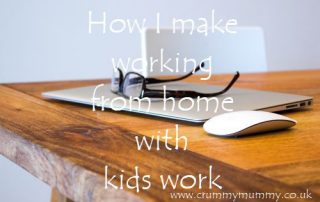 How I make working from home with kids work
