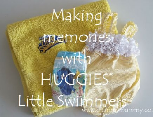 Making memories with HUGGIES® Little Swimmers® #ad