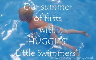 Our summer of firsts with Huggies Little Swimmers