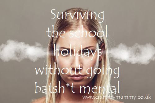 Surviving the school holidays without going batshit mental