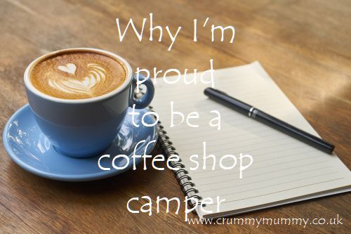 Why I'm proud to be a coffee shop camper