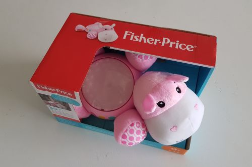 Fisher-Price Hippo Projection Soother review 2