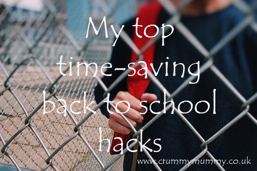 My top time-saving back to school hacks