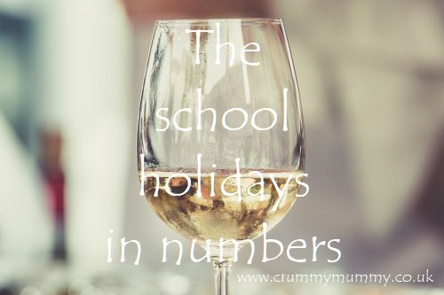 The school holidays in numbers