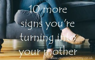 10 more signs you're turning into your mother
