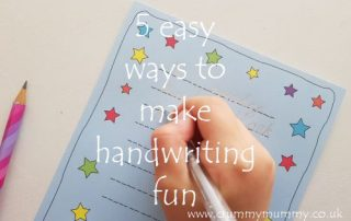 5 easy ways to make handwriting fun