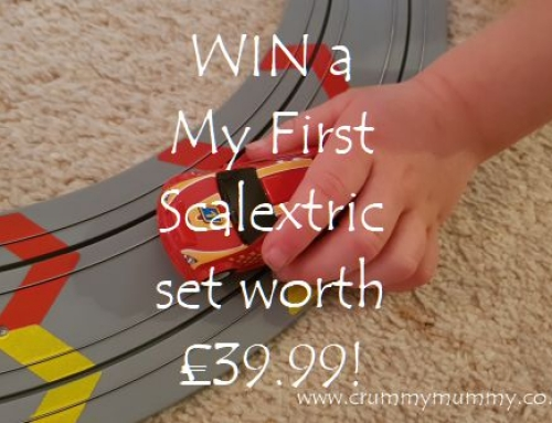 WIN a My First Scalextric set worth £39.99!