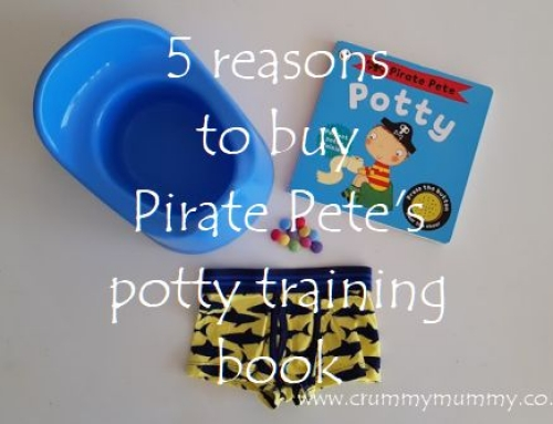 5 reasons to buy Pirate Pete's potty training book