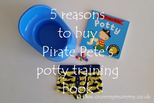 Reasons to buy Pirate Pete's potty training book