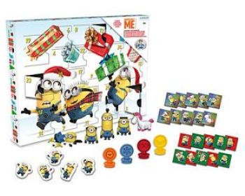 Despicable Me advent calendar
