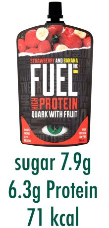 Fuel Quark with fruit