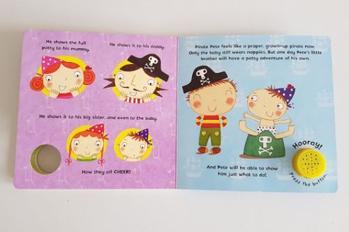 Pirate Pete potty training book review