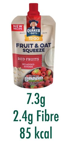 Quaker Oats Fruit & Oat Squeeze