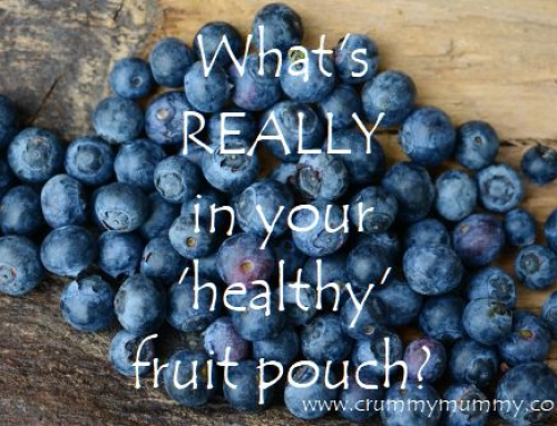 What's REALLY in your 'healthy' fruit pouch?