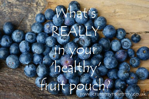 What's REALLY in your 'healthy' fruit pouch