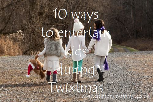 10 ways to entertain kids during Twixtmas