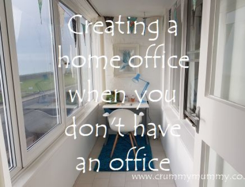 Creating a home office when you don't have an office