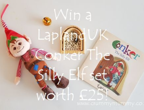Win a LaplandUK Conker The Silly Elf set worth £25!