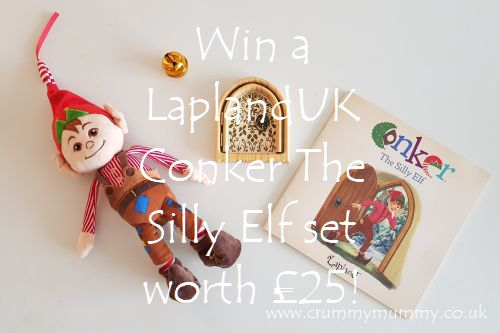 Win a LaplandUK Conker The Silly Elf