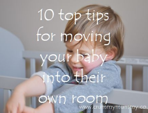 10 top tips for moving your baby into their own room