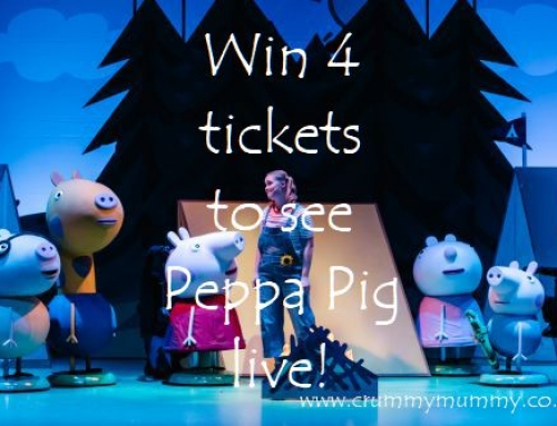 Win 4 tickets to see Peppa Pig live!