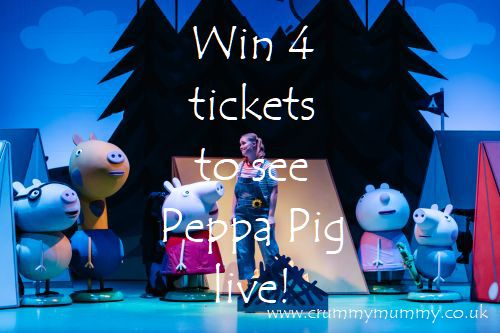 5e523f435 Win 4 tickets to see Peppa Pig live! - Confessions Of A Crummy Mummy