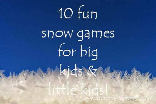 fun snow games