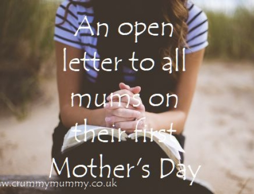 An open letter to all mums on their first Mother's Day