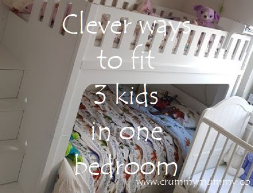 Clever ways to fit 3 kids in one bedroom