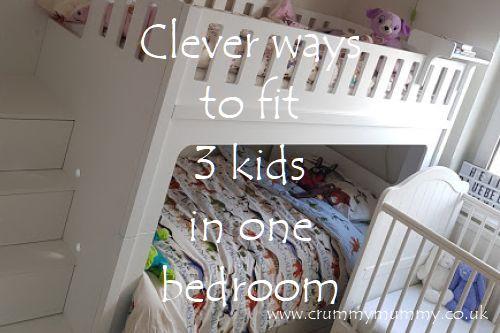 3 kids in one bedroom