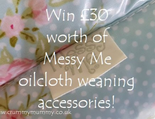 Win £30 worth of Messy Me oilcloth weaning accessories!