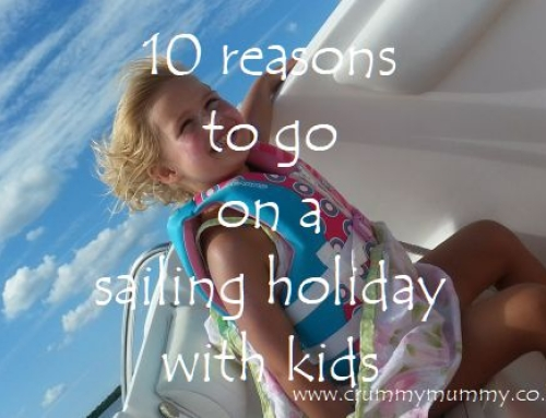 10 reasons to go on a sailing holiday with kids