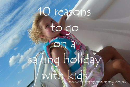 sailing holiday with kids