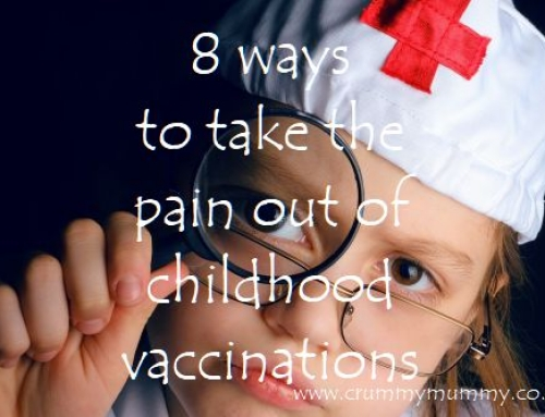 8 ways to take the pain out of childhood vaccinations