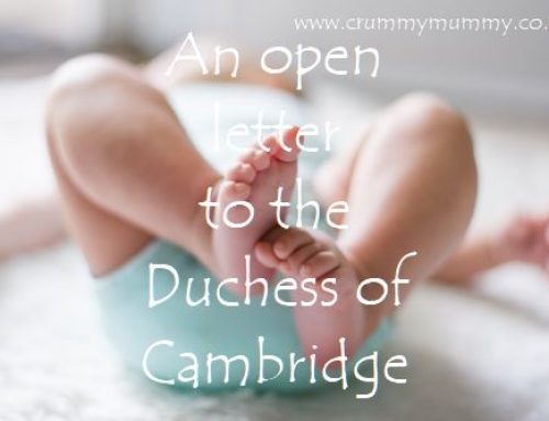 An open letter to the Duchess of Cambridge