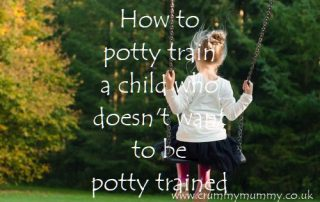 how to potty train