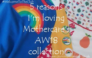 Mothercare's AW18 collection